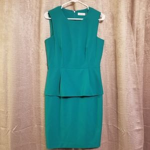 Calvin Klein Green Women's Work Dress